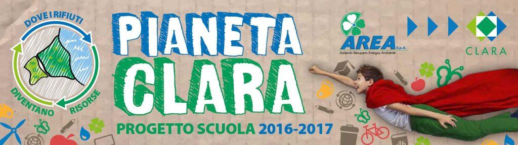 Pianeta Clara - progetti scuole 2016/17