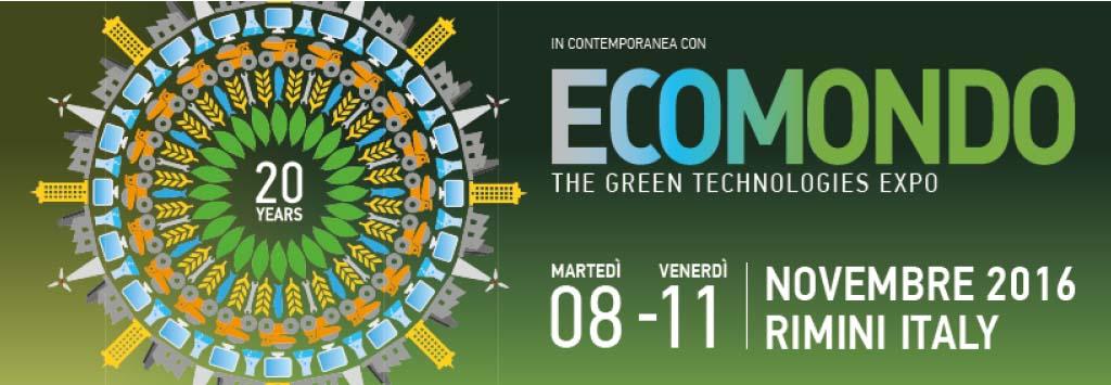 Ecomondo 8-11 novembre Rimini