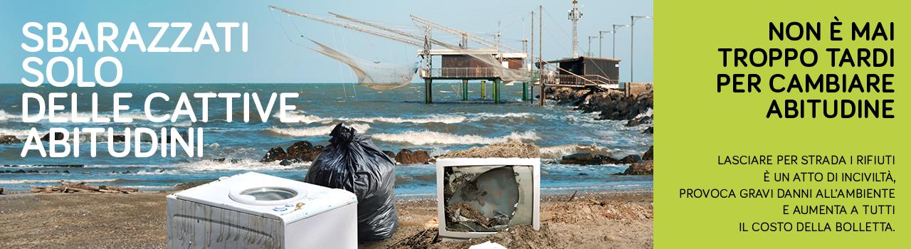 campagna Clara: abbandono rifiuti: sbarazzati delle cattive abitudini